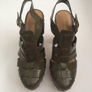 Shoes - Nine West Platform Sandals